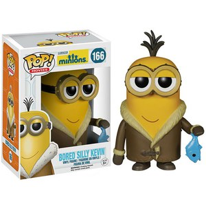 Figurine Pop! Les Minions Bored Silly Kevin