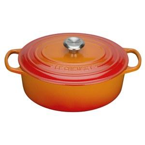 Le Creuset Signature Cast Iron Oval Casserole Dish - 29cm - Volcanic