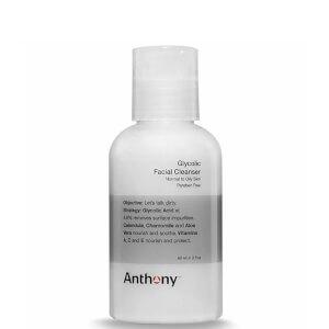 Limpiador facial con ácido glicólico de Anthony 60 ml