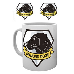 Metal Gear Solid Diamond Dogs Mug