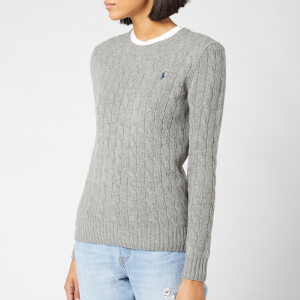 Polo Ralph Lauren Women's Julianna Jumper - Fawn Grey Heather