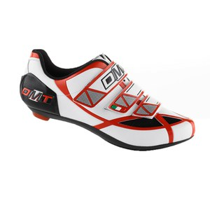 DMT Aries Road Shoes - White/Red/Black