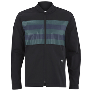 Wood Wood Men's Bradley Zipped Shirt - Black