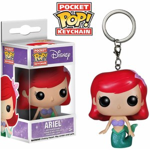 Llavero Pocket Pop! Ariel - Disney La Sirenita