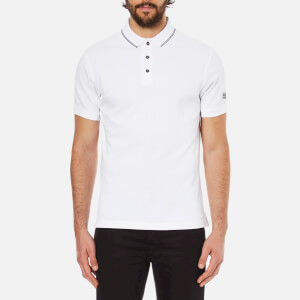 Barbour International Men's Polo Shirt - White/Black