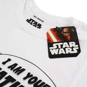 Star Wars Men's I Am Your Father T-Shirt - White: Image 3