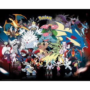 Pokemon Mega Mini Poster 40 x 50cm