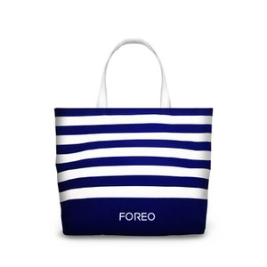 FOREO Canvas Tote Bag - White/Blue (Free Gift)