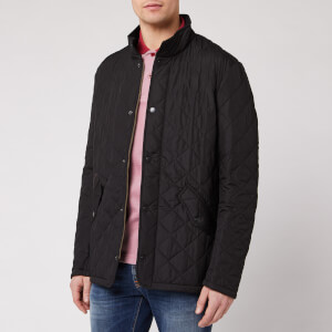 Barbour Heritage Men's Chelsea Sportsquilt Jacket - Black