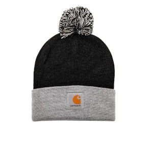 Carhartt Men's Britt Beanie - Black/Grey Heather