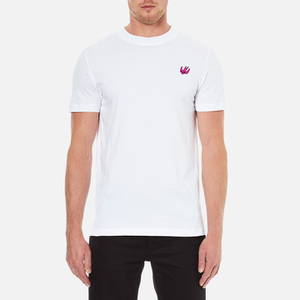 McQ Alexander McQueen Men's Swallow Crew Neck T-Shirt - Optic White