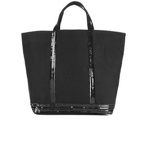 Vanessa Bruno Women's Cabas Large Cotton Tote Bag - Black