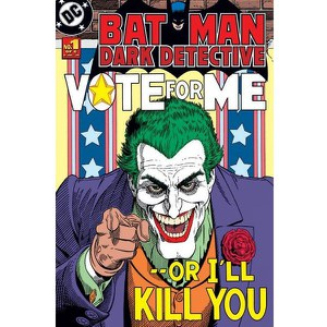 DC Comics Batman Joker Vote For Me - 24 x 36 Inches Maxi Poster