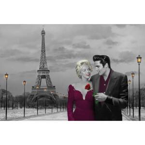 Paris Sunset Chris Consani - 24 x 36 Inches Maxi Poster