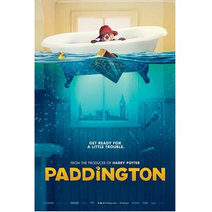 Paddington Bath - 24 x 36 Inches Maxi Poster