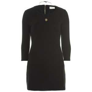 nümph Womens Black Tunic Dress - Caviar