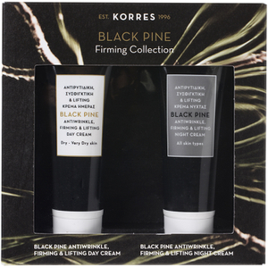 Korres Black Pine antiride et Mini Collection Fermeté
