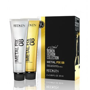 Redken Metal Fix 08 Metallic Liquid Pomade(2 x 20ml)