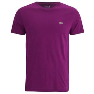 Lacoste Men's Crew Neck T-Shirt - Urchin Purple