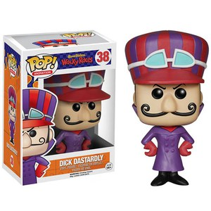 Hanna-Barbera Wacky Races Dick Dastardly Pop! Vinyl Action Figure