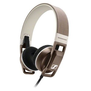 Sennheiser Urbanite On Ear Headphones Inc In-Line Remote & Mic - Sand