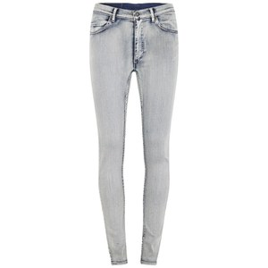 Cheap Monday Women's Second Skin Super Stretch High Rise Skinny Jeans - Super Worn