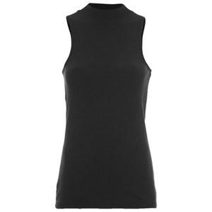 ONLY Women's Brooks Rib Turtleneck Top - Black