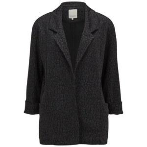 Great Plains Women's Oversized Coat - Black