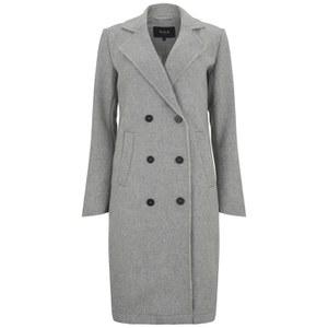 VILA Women's Burton Classic Coat - Grey