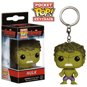 Porte-Clef Pocket Pop! Hulk - Marvel Avengers Age of Ultron