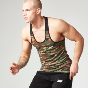 Myprotein Men's Camo Tank Top - Black Trim