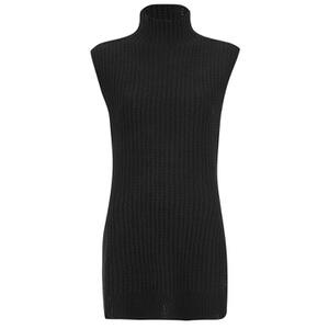 Vero Moda Women's Vogue High Neck Tunic - Black
