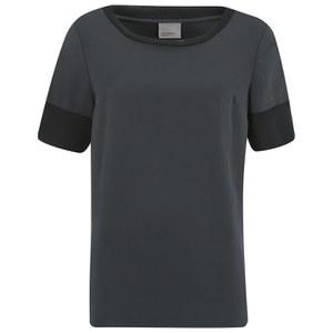 Vero Moda Women's Smooth Short Sleeve Top - Black