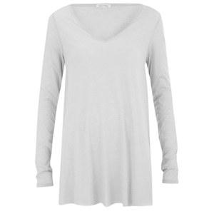 American Vintage Women's Beniton Long Sleeve T-Shirt - Ice
