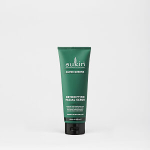 Exfoliante facial Super Greens de Sukin de 125 ml