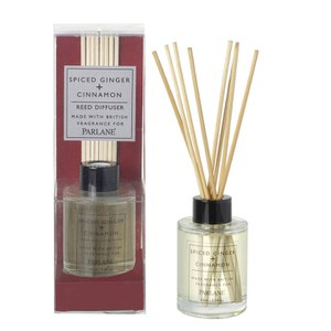Parlane Ginger, Spice and Cinnamon Diffuser (65ml) - Brown