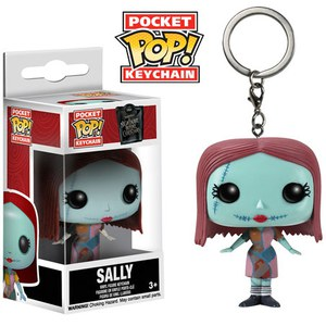 Disney Nightmare Before Christmas Sally Pocket Pop! Vinyl Key Chain