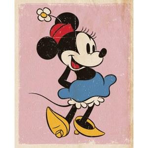 Disney Minnie Mouse Retro - 16 x 20 Inches Mini Poster