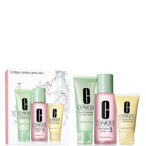 Kit Clinique 3 Step Intro (Tipo de Piel 3, Mixta/Grasa)