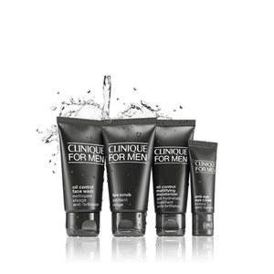 Clinique for Men Essentials Kit coffret-cadeau pour peaux grasses