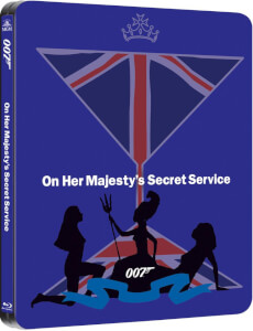 On Her Majesty's Secret Service - Zavvi UK Exclusive Limited Edition Steelbook