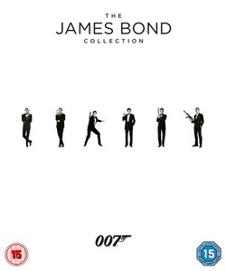 James Bond Kollektion 2015 Blu-ray