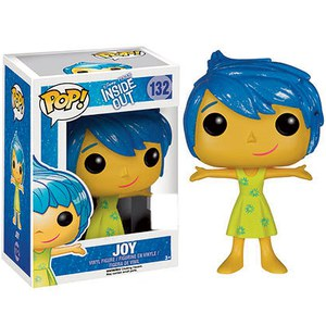 Disney Inside Out Joy Translucent Hair SDCC Exclusive Pop! Vinyl Figure