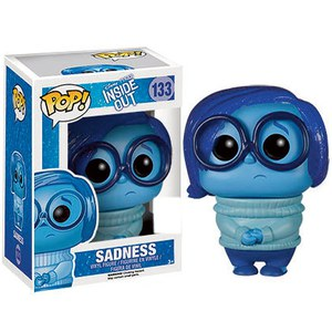 Disney Inside Out Sadness Trannslucent Hair SDCC Exclusive Pop! Vinyl Figure