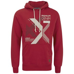 Smith & Jones Men's Kingsnorth Hoody - Red