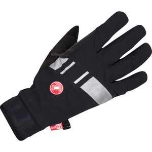Castelli Tempesta Gloves - Black/Silver/Grey