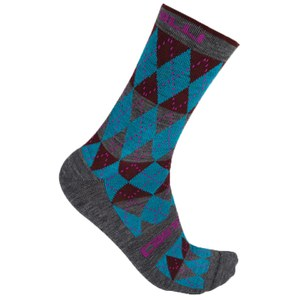 Castelli Diverso Socks - Blue/Red