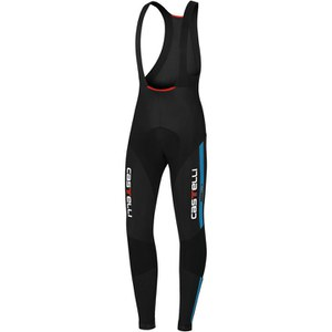 Castelli Sorpasso Bib Tights - Black/Blue