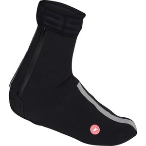 Castelli Tempesta Shoe Covers - Black/Silver