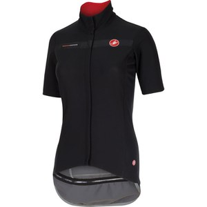 Castelli Womens Gabba Short Sleeve Jersey - Black